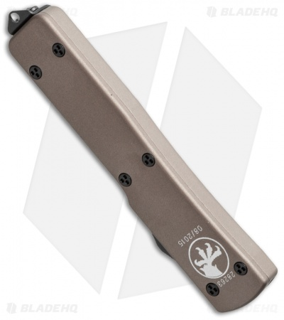 "Microtech UTX-70 S/E OTF Automatic Knife Tan (2.4"" Two-Tone) 148-1TA"