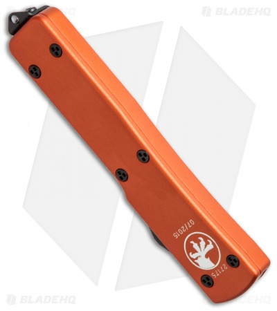 "Microtech UTX-70 Tanto D/A OTF Automatic Knife Orange (2.4"" Black) 149-1OR"