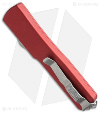 "Microtech UTX-70 S/E OTF Automatic Knife Red (2.4"" Two-Tone) 148-1RD"