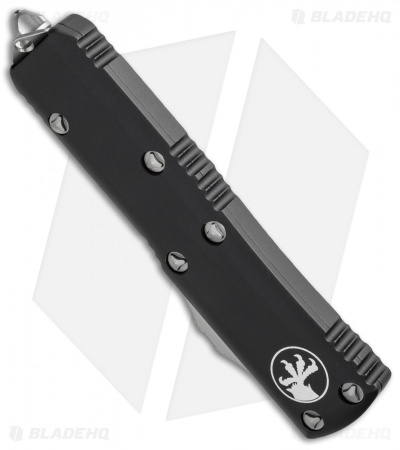"Microtech UTX-85 S/E OTF Automatic Knife (3.125"" Black) 231-1"