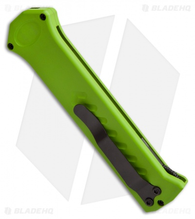 "Asheville Steel Paragon PARA-XD-CP Zombie Green OTF Automatic Knife (3.6"" Black)"