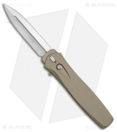 "Protech Dark Angel OTF Automatic Knife Desert Sand (3.7"" Satin) 3231"