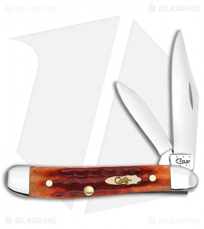 "Case Peanut Knife 2.875"" Whiskey Bone (6220 SS) 11902"