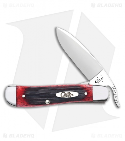 "Case Russlock Knife 4.25"" Red Bone (61953 1/2L SS) 29142"