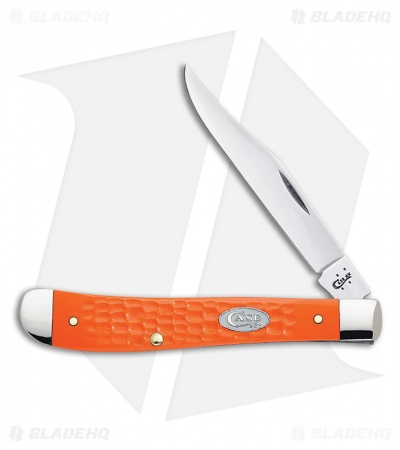 "Case Slimline Trapper 4.125"" Orange Sparxx (61048 SS) 10471"