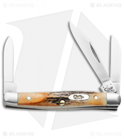 "Case Small Stockman Knife 2.625"" Genuine Stag (5333 SS) 00178"