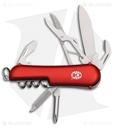"Coleman Ember II Slip Joint Pocket Knife 2.50"" Red Aluminum CMN1084"