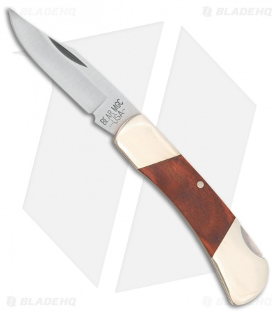 "Bear & Son Lock Back Knife Rosewood (2.25"" Satin) C226R"