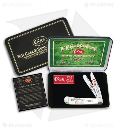 Case Trapper 125th Anniversary Gift Set White Pearl Corelon (9254 SS) 9254125WP