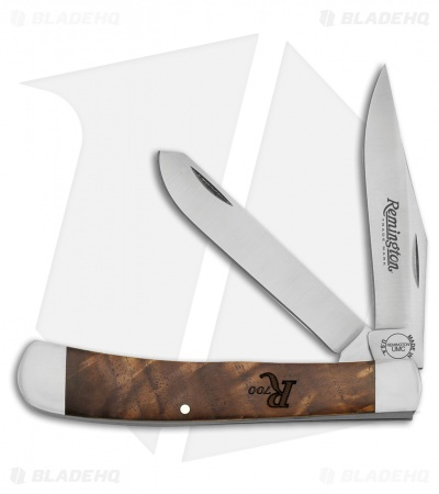 "Remington 700 Series Trapper Traditional Pocket Knife 3.75"" American Walnut"