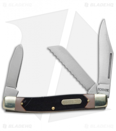 Schrade Old Timer Blazer Pocket Knife & Card Combo Set