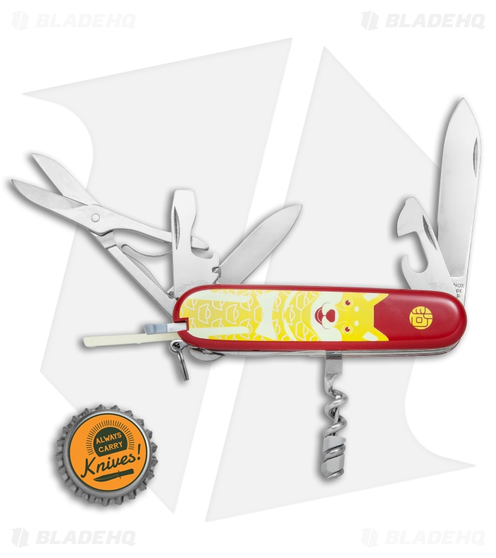 Victorinox Limited Edition Huntsman Swiss Army Knife Year Of The Dog 2018 Blade Hq