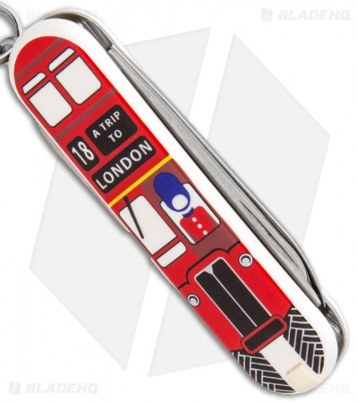 Victorinox Classic SD Swiss Army Knife Trip To London