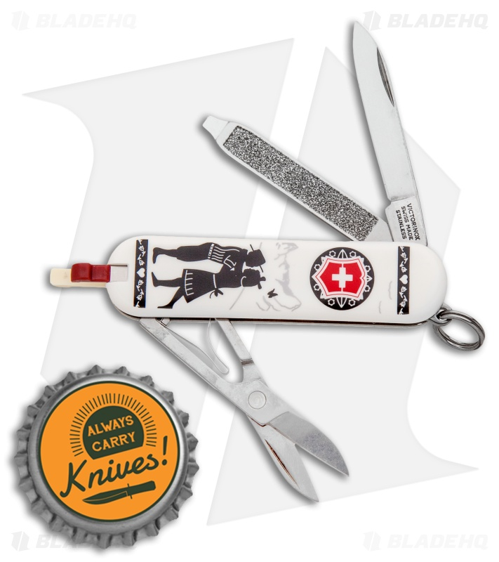 Victorinox Classic Sd Swiss Army Knife Alps Love