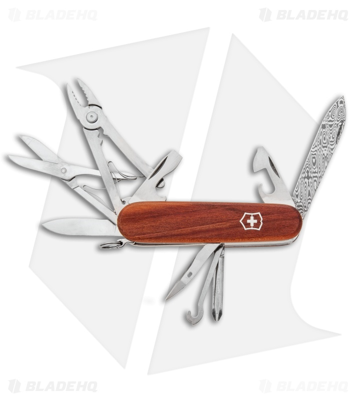 Victorinox Swiss Army Knife Deluxe Tinker Wood