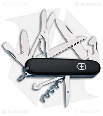 Victorinox Swiss Army Knife Huntsman Black  53203