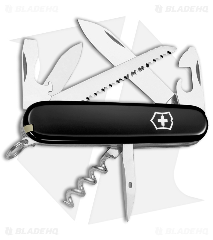 618012072b6 Victorinox Swiss Army Knife Camper Black 53303 - Blade HQ