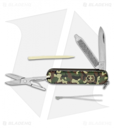 Victorinox Swiss Army Knife Classic Sd Camouflage Blade Hq