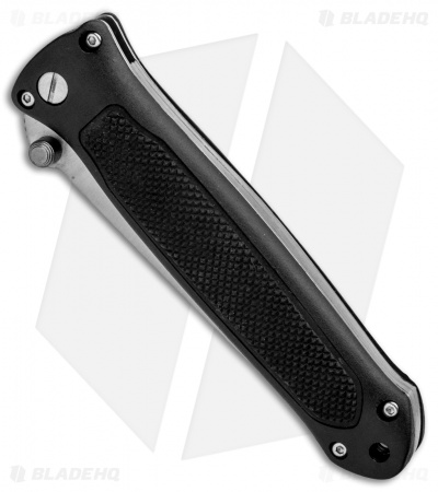 "Linder Dual-Action Automatic Hidden Release Knife (3.25"" Satin)"