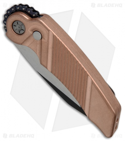 "Rat Worx MRX Full-Size Automatic Knife Copper (3.6"" Two-Tone) 01013"