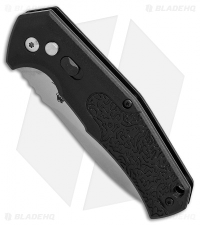 "Bear Ops Bold Action VI  Automatic Knife Black (3.25"" Bead Blast) AC-600-B7-P"