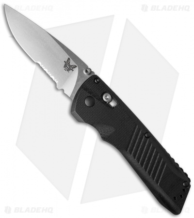 "Benchmade Serum AXIS Dual-Action Automatic Knife G-10 (3.5"" Satin Serr) 5400S"