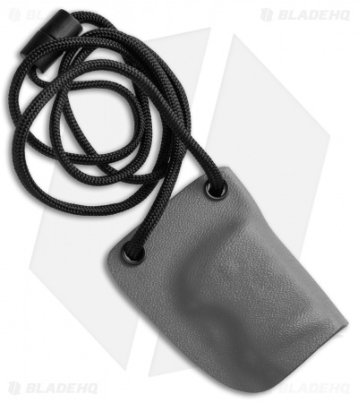 Linos Kydex Sheath for Boker Kalashnikov w/ Neck Cord - Gray