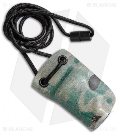 Linos Kydex Sheath for Boker Kalashnikov w/ Neck Cord - Green Camo