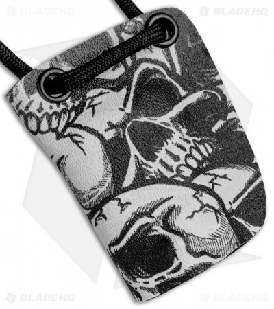 Linos Kydex Skull Sheath for Boker Kalashnikov Knife w/ Black Neck Cord KALS