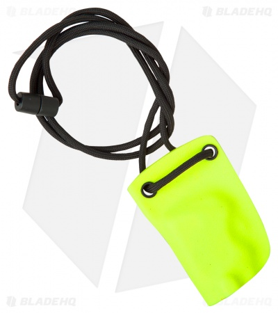 Linos Kydex Sheath for Boker Kalashnikov w/ Neck Cord - Safety Yellow