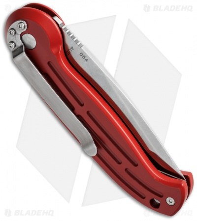 "Boker Magnum Tanto Automatic Knife Red (3.25"" Satin) 01BO127N"
