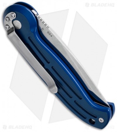 "Boker Magnum Tanto Automatic Knife Blue (3.25"" Satin) 01BO129N"