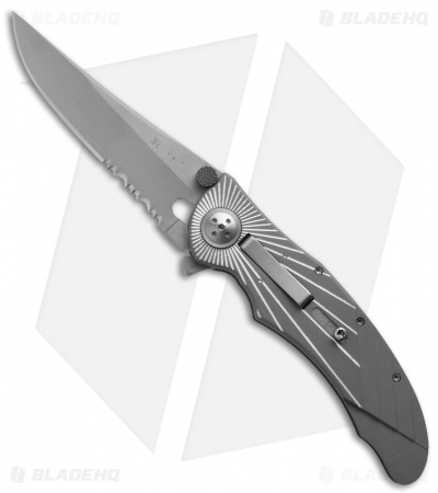 "CRKT Starlight E-Lock 7353 Automatic Conversion (3.25"" Serr)"