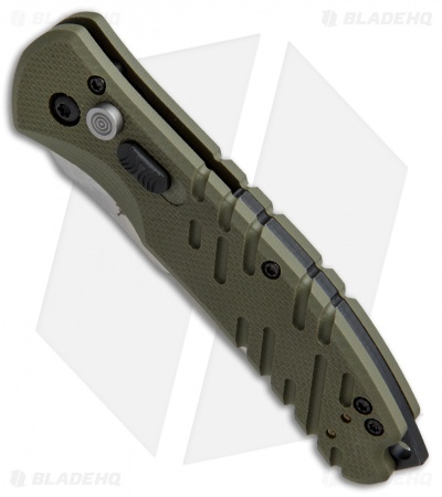 "Gerber Propel Downrange Automatic Knife OD Green (3.5"" Stonewash)"