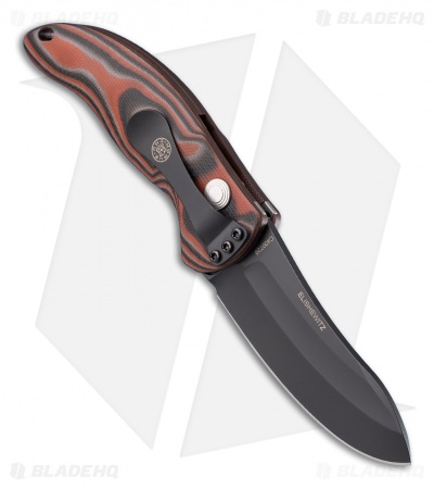 "Hogue Knives EX04 Automatic Knife Red Lava G-Mascus (3.5"" Upswept) 34432"