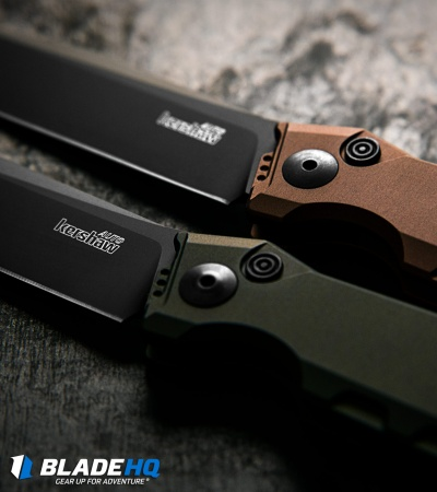 "Kershaw Galyean Launch 7 Automatic Knife Earth Brown (3.75"" Black) 7900EB"