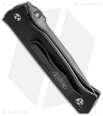 "Microtech CMTX5 D/A Automatic Knife Carbon Fiber (3.5"" Satin) 10/2004"