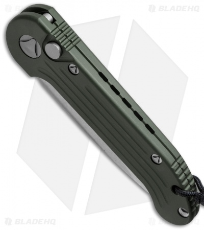 "Microtech LUDT Automatic Knife OD Green (3.4"" Stonewash) 135-10OD"