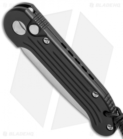 "Microtech LUDT Automatic Knife Black (3.4"" Bead Blast) 135-7"