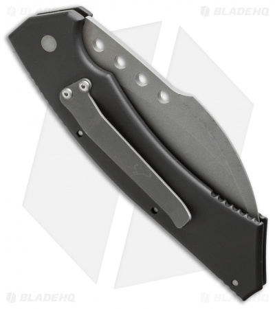 "Microtech Hawk Automatic Knife (4"" Bead Blast Serr) 9/96"