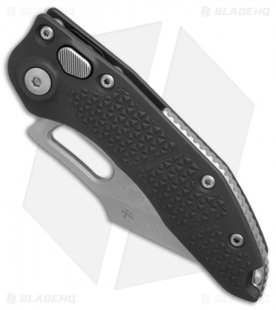 "Microtech Stitch Automatic Knife Black (3.75"" Apocalyptic Serr) 169-11AP"