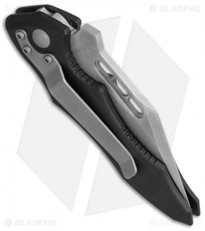 "Microtech Vector Automatic Knife (3.125"" Bead Blast Serr) 01/2000"