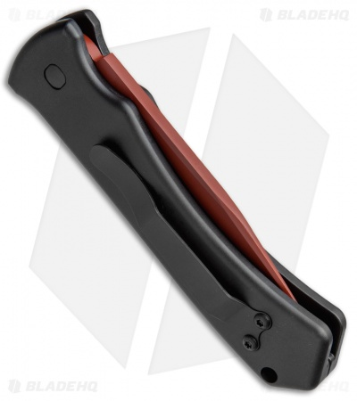 "Asheville Steel Paragon ERT Automatic Knife (3.5"" Red)"