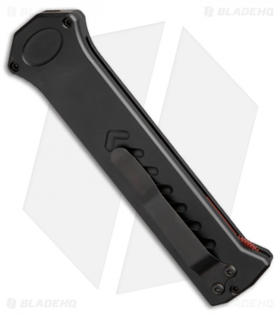 "Asheville Steel Para X Blood Line Automatic Knife Black (3.5"" Ser) SP-BL-2XL-CRB"