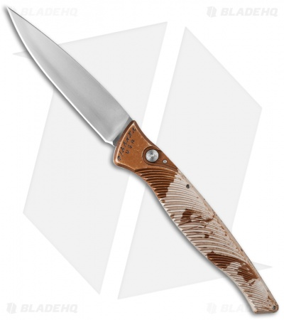 "Piranha DNA Automatic Knife Desert Camo (3.25"" Mirror)"