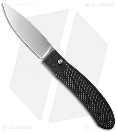 "Piranha Toxin Automatic Knife Black (3.75"" Mirror)"