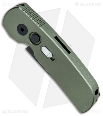 "Protech Calmigo CA Legal Automatic Knife Dark Green (1.9"" Black)"