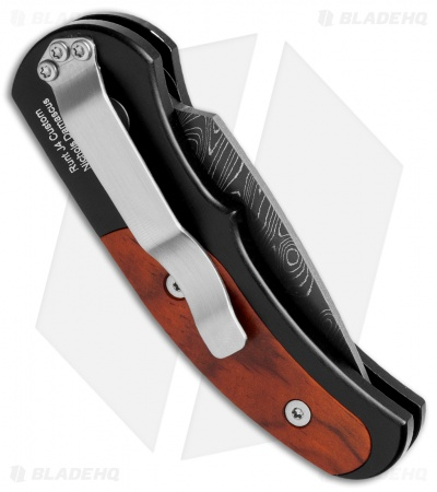 "Protech Custom Runt J4 Automatic Knife Cocobolo (1.94"" Damascus) 4406-D"