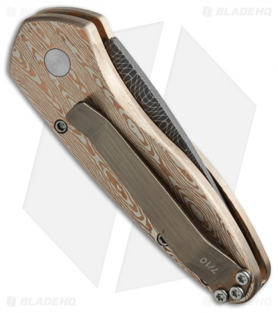 "Protech Ultimate Custom Sprint Automatic Knife Mokume (1.95"" Damascus)"
