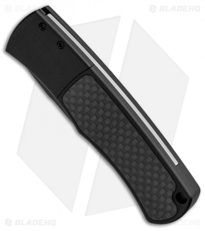 "Protech Magic BR-1 ""Whiskers"" Automatic Knife Smooth/Carbon Fiber (3.125"" Black)"